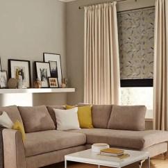 Cream Living Room Curtains Center Table Set Ireland Up To 50 Off Hillarys Daze Ivory Roller Joya Norfolk Charcoal