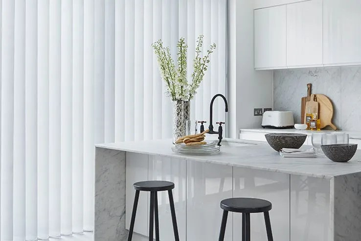 grey kitchen blinds aid pasta maker extra 10 made to measure up 60 off hillarys a fuss free choice for wide windows