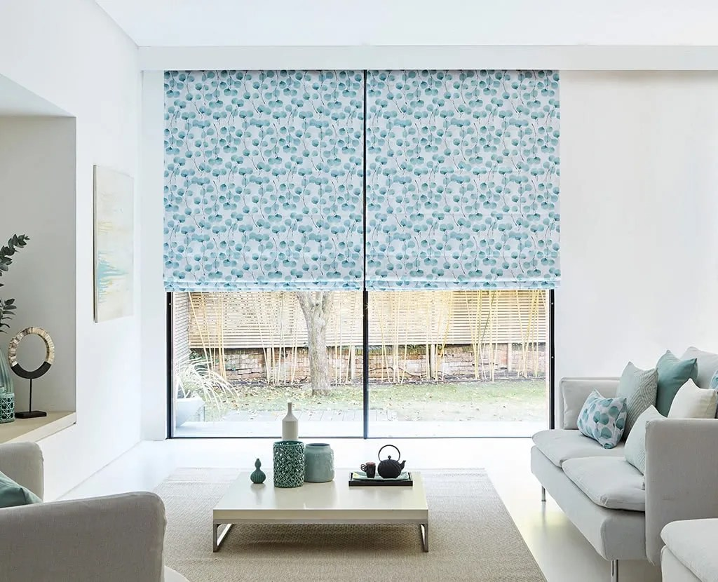 blinds for living room how to paint ideas made measure up 50 off hillarys view roller blind vanity clay