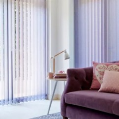 Blinds For Living Room Single Chair Design Blind Ideas Hillarys Purple Vertical In The Pattie Violet