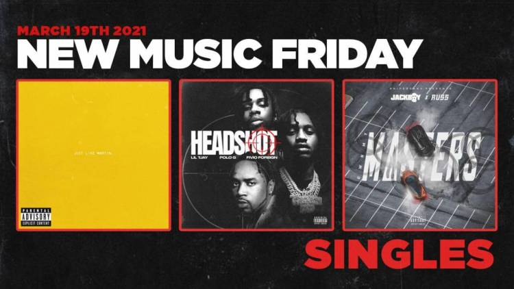 New Music Friday - New Singles From Lil TJay, Polo G, Fivio Foreign, Jackboy, Russ + More