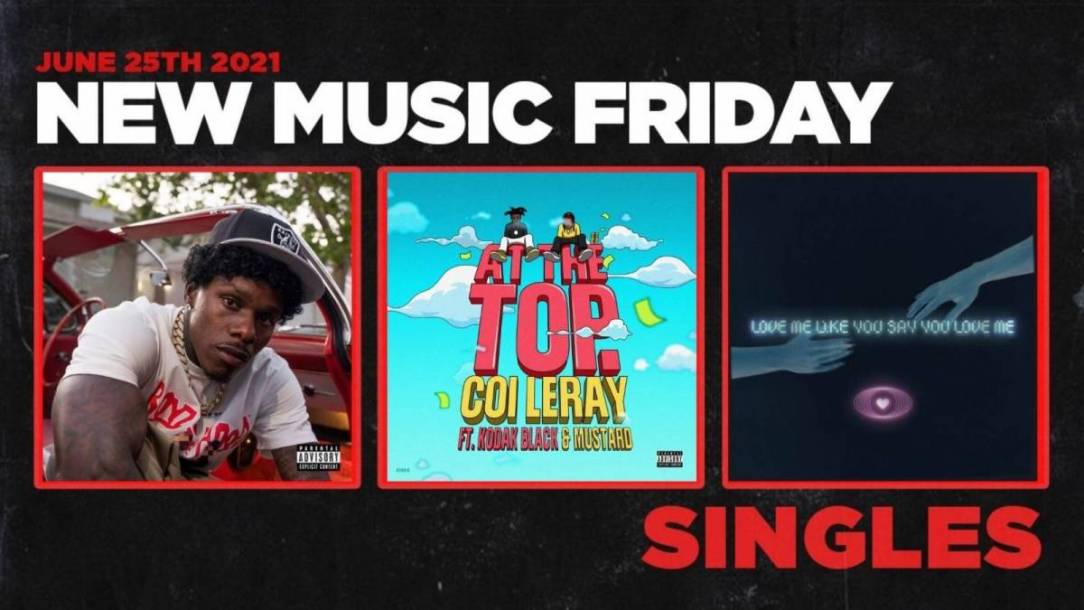 New Music Friday - New Singles From Coi Leray + Kodak Black, DaBaby, Icewear Vezzo + More