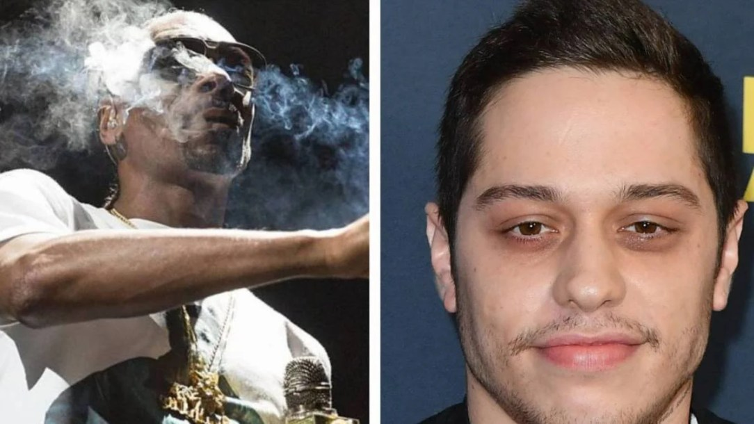 Snoop Dogg Blows Pete Davidson's Stoner Lid