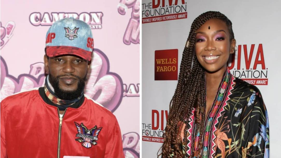 Brandy Plays Cam'ron For A Fool In Hilarious Dice Game Skit
