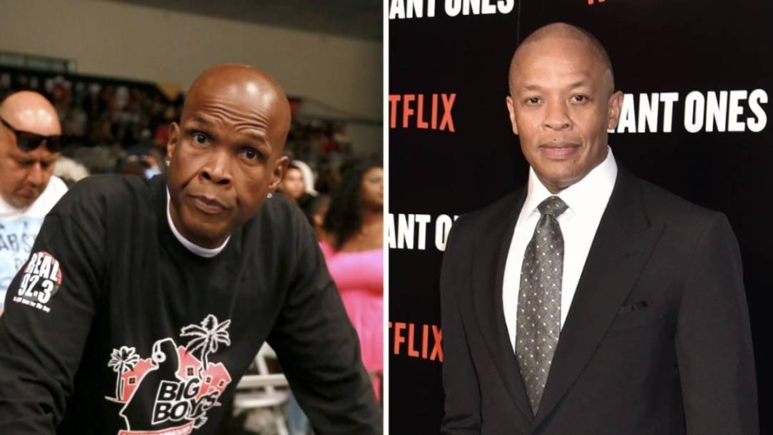 Dr. Dre To Introduce Hip Hop Radio Legend Big Boy's Hollywood Star