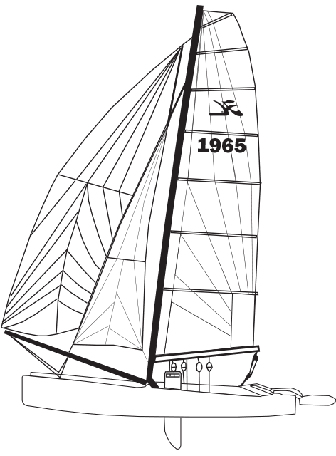 Tiger : Fiberglass Sailboats : Hobie Cat