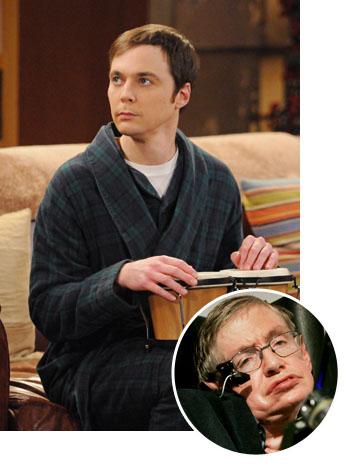 Stephen Hawking The Big Bang Theory : stephen, hawking, theory, Theory', Enlists, Stephen, Hawking, Hollywood, Reporter