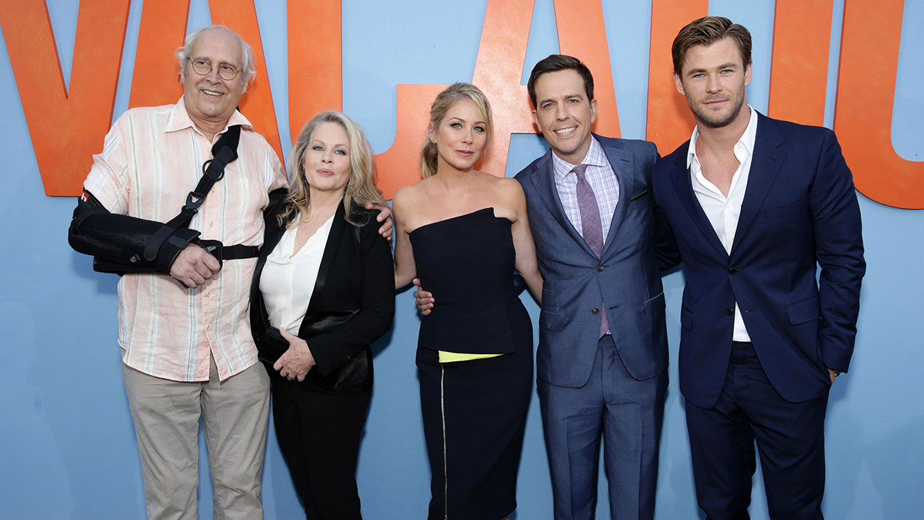 Vacation Reunites Griswolds At L A Premiere Hollywood Reporter