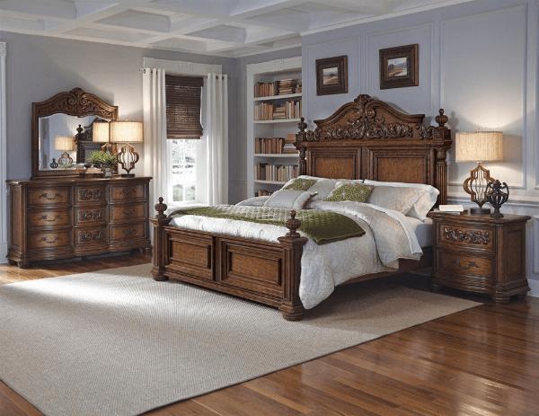 cheswick bedroom set pulaski furniture