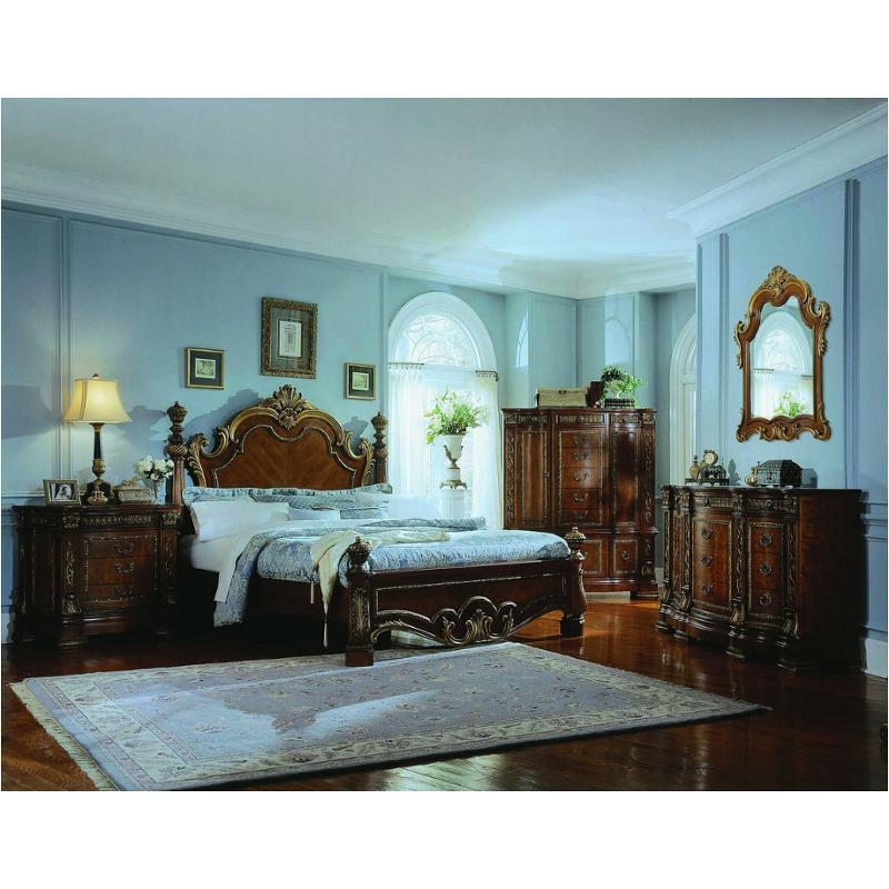 575160 pulaski furniture royale eastern king lo poster bed