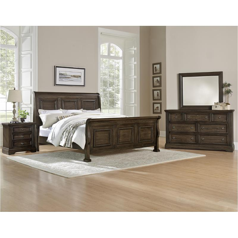 560 553 vaughan bassett furniture affinity dark roast queen sleigh bed