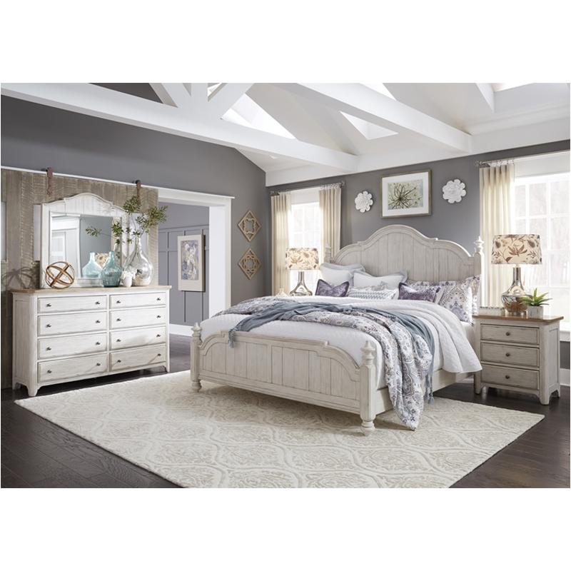 652 br03 liberty furniture farmhouse reimagined king poster bed