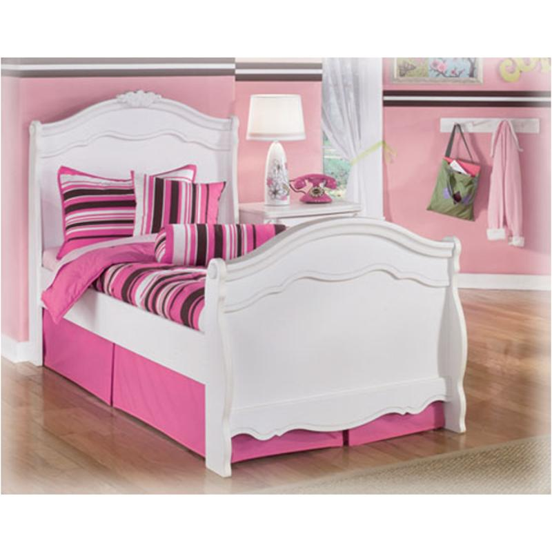 b188 63n ashley furniture exquisite white twin sleigh bed