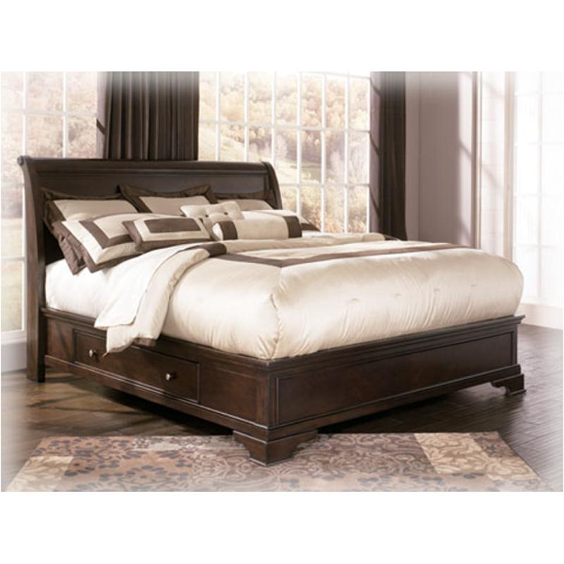 b577 58 ashley furniture leighton king sleigh bed