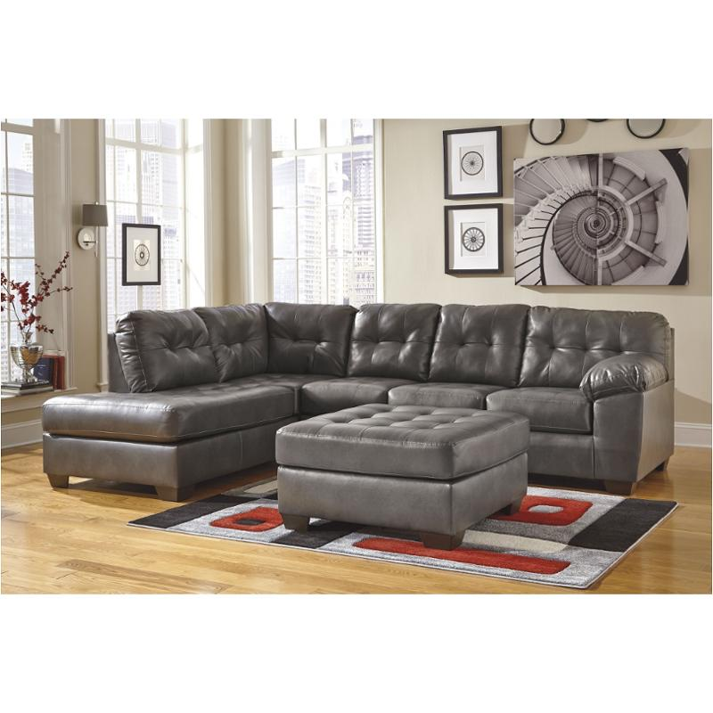2010267 ashley furniture alliston durablend gray raf sofa