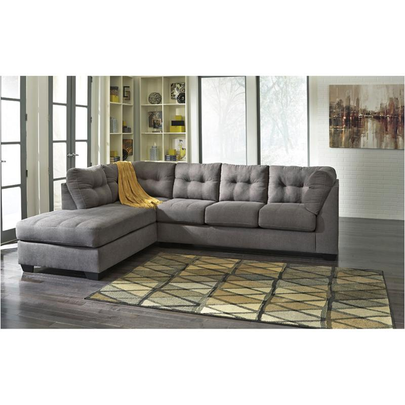 4520016 ashley furniture maier charcoal laf corner chaise