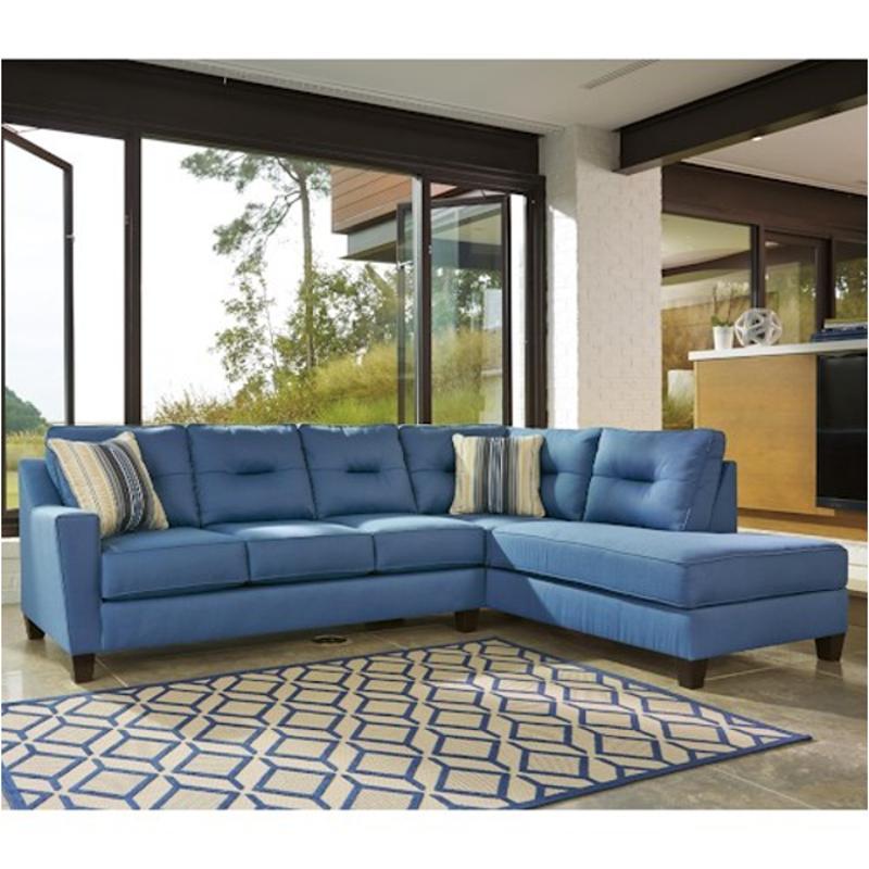 9960366 ashley furniture kirwin nuvella blue laf sofa