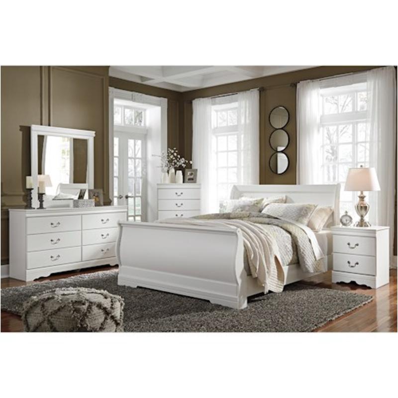 b129 77 ashley furniture anarasia queen sleigh bed