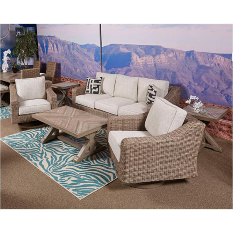 p791 838 ashley furniture beachcroft sofa with cushion