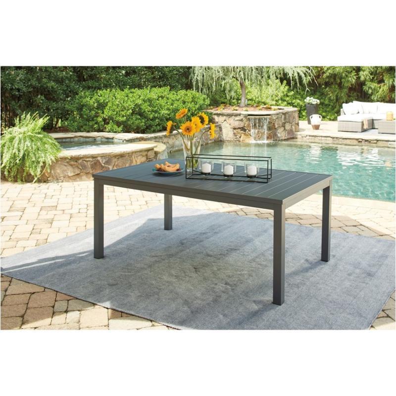 p315 625 ashley furniture okada rectangular dining table with umb option