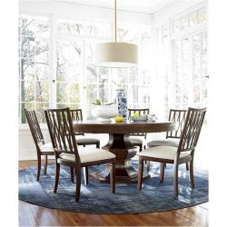 silhouette table tab round dining universal furniture room