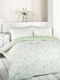 Green Duvet Quilt Cover Bedding Bed Set Single Double King ...