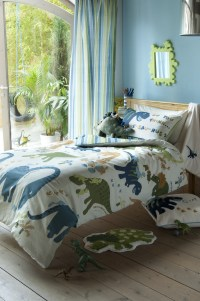 Dinosaur Single Duvet Cover, Curtains, Blanket, Rug ...