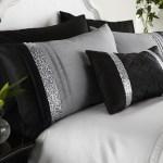 Black Grey Silver Duvet Covers Bedding Bed Set Double King Or Super King Ebay