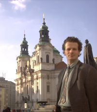 Picture of me in Prague.