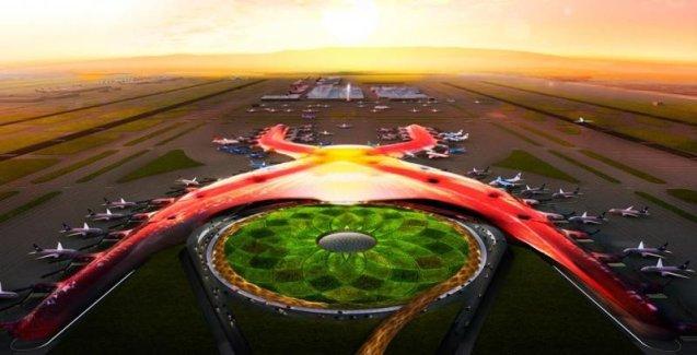 Noul aeroport din Mexico City, cel mai sustenabil din lume. (Fotografie: Președinția Republicii Mexicane)