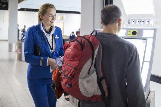 Imagine: teste de îmbarcare biometrică realizate de KLM