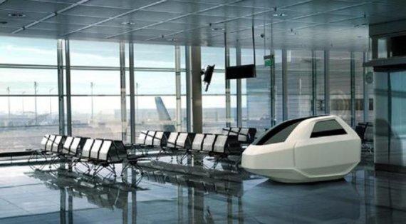 Afacerea siestei în aeroporturi