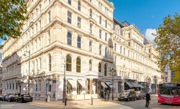 Emblematica clădire The Grand, în Brimingham, a devenit un hotel de lux la începutul acestui an.