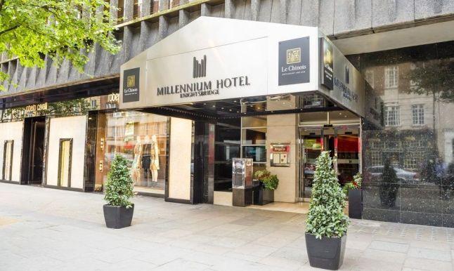 Millenium Hotel London Knightsbridge, unul dintre cele șapte hoteluri ale grupului în Londra.