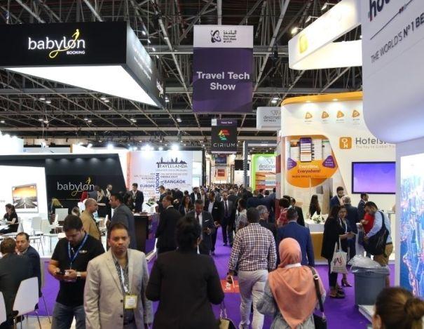 Imagine de la târgul de anul trecut, care a reunit 39.000 de prefesioniști din domeniul turismului din Orientul Mijlociu și Africa.