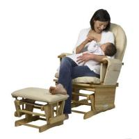 Nursing Glider Chair & Glider Stool