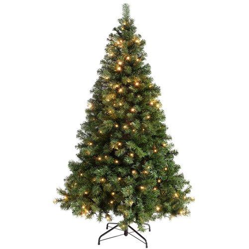 Cheap pre lit christmas tree 3567 amazoncouk