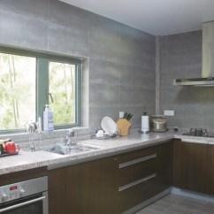Grey Kitchen Tile Cabinet Glass 松下盛一 情迷东南亚图片 样板间 新浪装修家居网 下