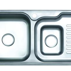 Kitchen Sink Size Cabinets With Crown Molding 摩恩厨房水槽大小槽不锈钢厨盆23602产品价格 图片 报价 新浪家居网 摩恩厨房水槽大小槽不锈钢厨盆23602