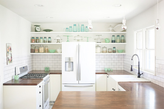 Two Tone Galley Kitchen