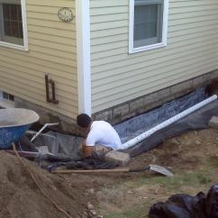 French Drain Design Diagram Sequential Turbo How To Build A Exterior Systems