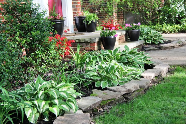 easy landscaping maintenance