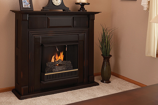 Ventless Gas Fireplace  Ventless Propane Fireplace