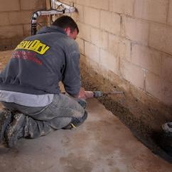 French Drain Design Diagram Trailer Hitch Wiring 5 Pin Drains Basements Basement Solutions