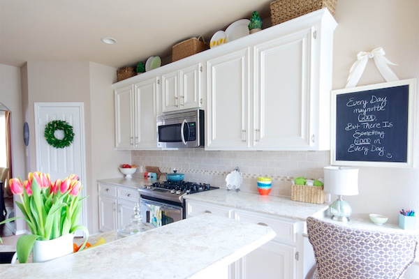 repair kitchen cabinets hotels with full kitchens in orlando florida makeover goes white paint and laminate