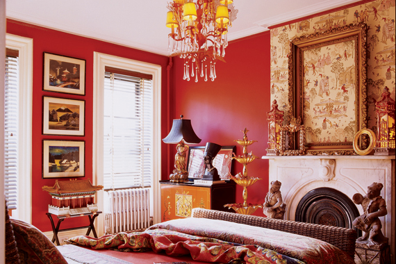 Red Painted Walls For Your Home How To Pick Red Paint