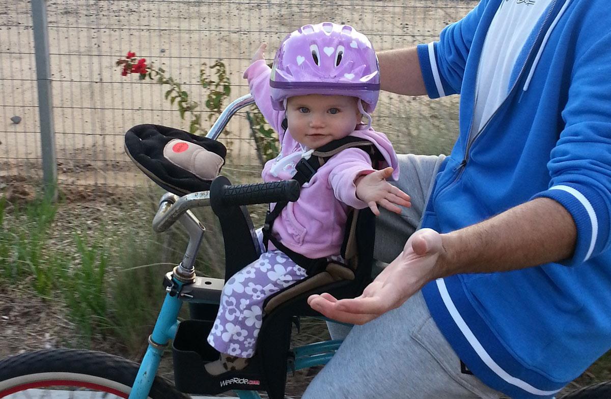 Weeride la mejor sillita delantera para la bici