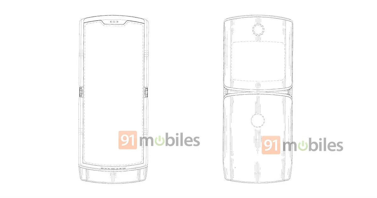 Motorola RAZR 2019 foldable phone's likely design revealed