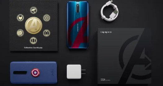 OPPO F11 Pro Marvels Avengers Limited Edition