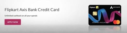 Flipkart credit card axis bank